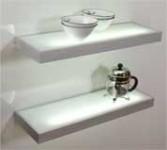 Aluminium glass shelf 1