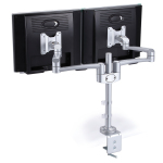 Desk Monitor Stand - Double Monitor Arm FA-215
